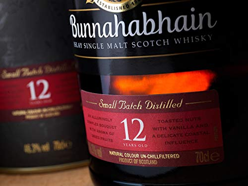 Bunnahabhain 12 Jahre - Islay Single Malt Scotch Whisky (1 x 0.7 l) - 8
