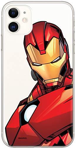 ERT Marvel Iron Man Custodia per iPhone 11 - Trasparente MPCIMAN1331