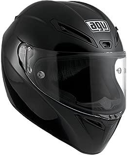 AGV GT-Veloce Full Face Motorcycle Helmet (Matte Black, Large)