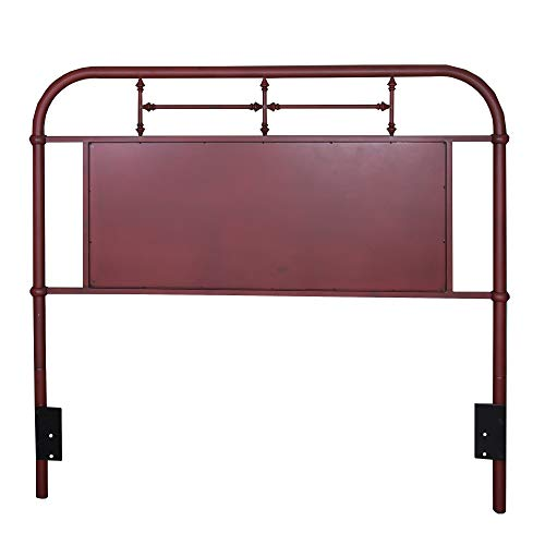 Liberty Furniture Industries Vintage Series Full Metal Headboard, 59' x 2' x 54', Distressed