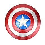 Captain America 20 inch Metal Shield Cosplay Shield (Red)