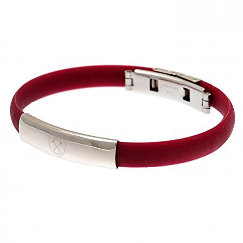 West Ham United F.C. Pulsera de Silicona Color Producto Oficial