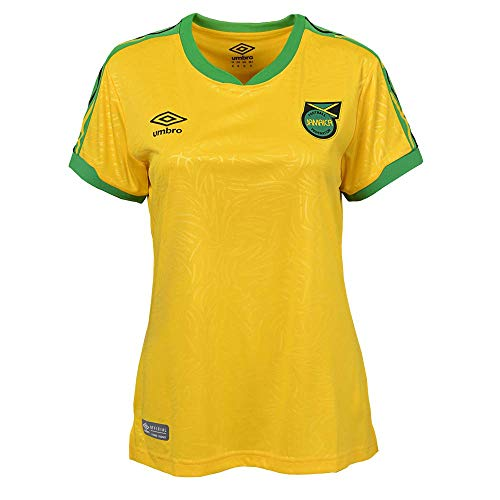 Umbro Jamaica 18/19 Womens Home Jersey Yellow (M)