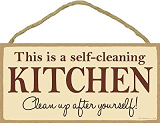 Best funny clean kitchen signs Reviews