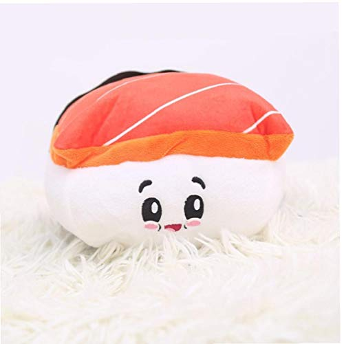 BFYRI Restaurant Salmon Sushi Toy Plüsch Kawaii Food Kissen Küche Sofa Schaufenster Dekorative Sushi Pillow