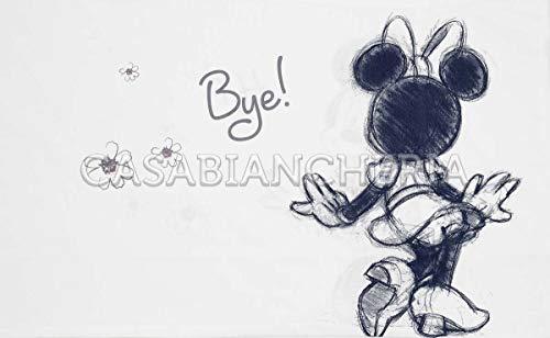 Completo Lenzuola Singolo Disney Caleffi Minnie Ciao-Singolo