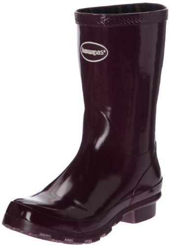 Havaianas Helios Mid Rain Boots, Bottes de Pluie Femme, Violet (Aubergine 2967), 36 EU