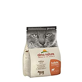 Almo Nature Holistic Dry Cat Food, Beef and Rice, 2 Kg