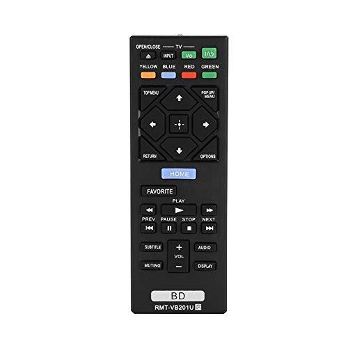 Bewinner Ersatzfernbedienung für Blu-Ray DVD, Fernbedienung für Sony Blu-Ray, Fernbedienung über 8m Distanz für BDP-S3700 BDP-BX370 BDP-S1700