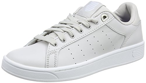 K-Swiss Damen CLEAN Court CMF Sneakers, Schwarz(Wind Chime/White 021), 39.5 EU