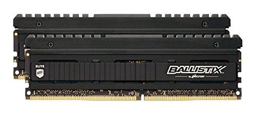 Ballistix Elite BLE2C4G4D32AEEA 8Go Kit (4Gox2) Mémoire (DDR4, 3200 MT/s, PC4-25600, SR x8, DIMM, 288-Pin)
