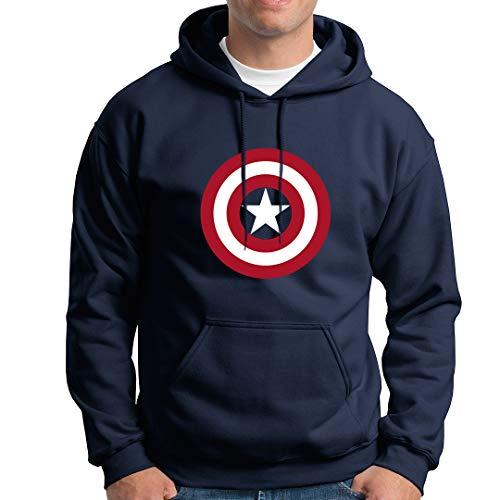 SONSECAR Sudadera Capitan America. Vengadores. 9-11