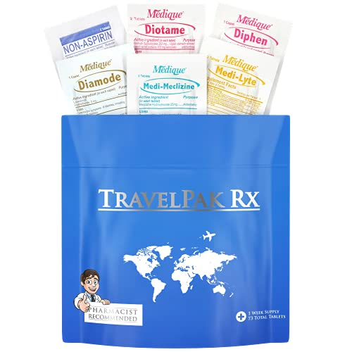 TravelPakRx – 73 Tablets - A Complete Travel...