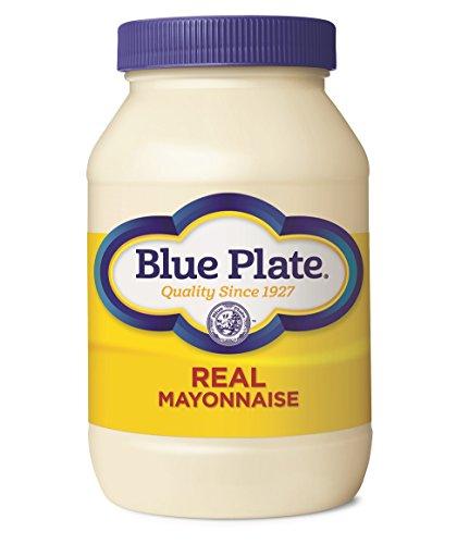 Blue Plate Mayonnaise  Plate Real Mayonnaise, 30 Ounce Jar