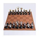 Ajedrez Internacional Juego de ajedrez Conjunto de ajedrez, ajedrez de ajedrez de Jade Hetian, ajedrez, ajedrez con Certificado, colección Creativa Regalo de Regalo (Color : A)