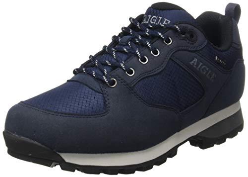 Aigle Herren Plutno Mtd Sneaker, Blau (Darknavy 001), 42 EU