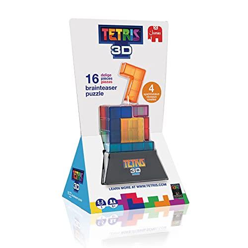 Jumbo Tetris 3D-Juego de Habilidad y construcción para niños a Partir de 6 años, Multicolor (19845)