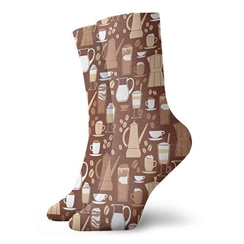 NA Stretch sokken Koi karper vis Japanse olieverfsokken knie hoge sokken aangepast voor hardlopen, Atletiek, spataderen