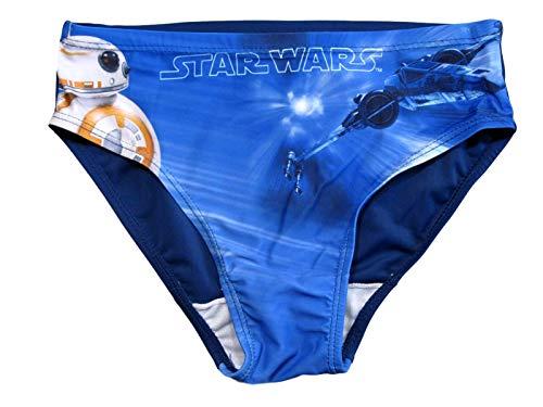 Star Wars Badehose Jungen BB8 (Blau, 128-134)