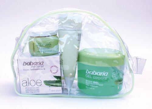 babaria Aloe Vera Gesichts-und Körperpflege Set PURE