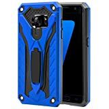 AFARER Samsung Galaxy S7 case,Military Grade 12ft Drop Tested Protective Case with Kickstand,Military Armor Dual Layer Protective Cover Compatible with Samsung Galaxy S7 5.1 inch Blue
