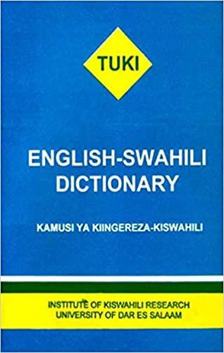 TUKI dictionary: learn Swahili grammar easily (English Edition)