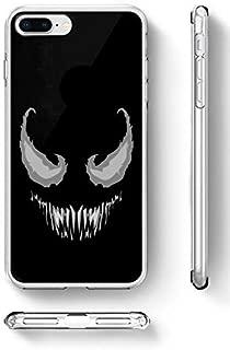 c riveras Venom Cartoon Inspired Phone Case Venom Smile Mobile Case Soft Rubber Silicone Fan Art iPhone SE iPhone 5 iPhone 5s