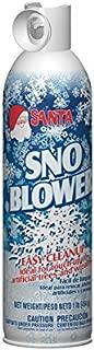 Santa SNO Blower Winter White Christmas Snow Spray - 16 Ounces