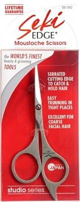 Seki Edge Stainless Steel Moustache Scissors