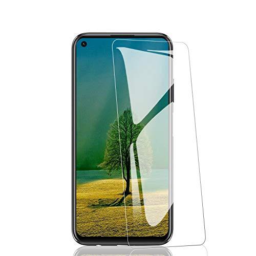 RIIMUHIR 3 Pièces de Verre Trempé pour Huawei P40 Lite, sans Bulles, Anti-Traces de Doigts, Anti-Huile, Ultra-Clarté, Transparent