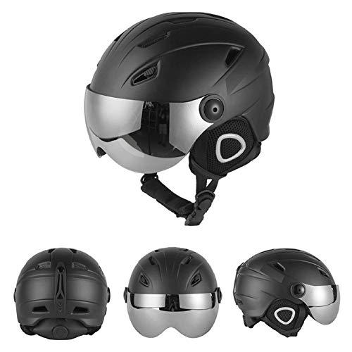 Casque de ski Homme, Masque de sécurité Masque...