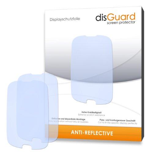 disGuard RX033117 antireflektierend hartbeschichtet Displayschutzfolie für Huawei Ascend Y100 U8185/Y-100 U-8185 (2-er Pack)