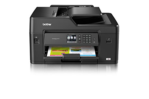 Brother MFC-J6530DW DIN A3 4-in-1 Farbtintenstrahl-Multifunktionsgerät (250 Blatt Kassette, Drucker, Scanner, Kopierer, Fax)