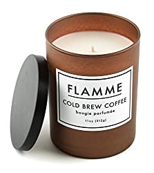 who make the best coffee scent candle and where I can buy it