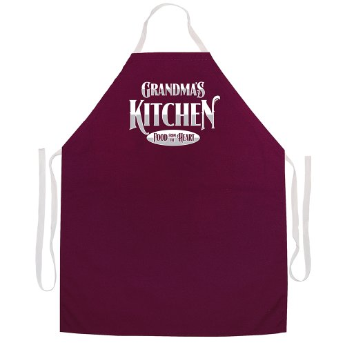 Delantales de actitud totalmente ajustables 'Grandma's Kitchen Food From The Heart'