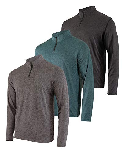 Mens Quarter 1/4 Zip Pullover Lo...