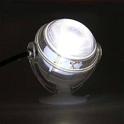 Moligh doll Lampe sous-Marine a LED Lumiere d'aquarium Etanche a Prise UE 110V 220V LED pour Corail Recif Aquarium Lumiere d'aquarium Submersible Lampe projecteur Bleu