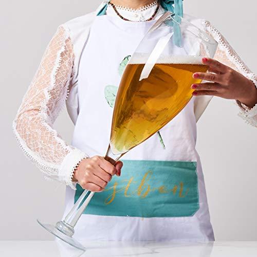 Weinglas Übergroße Bierglas Spoof große Kapazitäts Riesen Extra Large Goblet Rotwein Champagner Glas Xuan - Worth Having (Size : 3000ml)