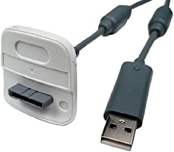 Cables Unlimited XBox 360 Play And Charge Cable, White