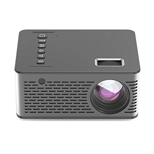 Liudan Mini Projector Multimedia USB/TF Smart LED Pocket Projector Home Theater Cinema UK Plug