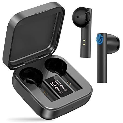 Bluetooth Kopfhörer, in Ear kopfhörer kabellos Hi-Fi Stereo So& Touch Control Sport Ohrhörer, 20 Std.Spielzeit,für iPhone Samsung Huawei Android usw