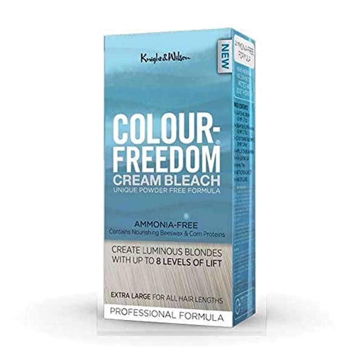 強化定期的に追跡[Colour Freedom ] 色自由クリーム漂白剤80グラム - Colour Freedom Cream Bleach 80g [並行輸入品]
