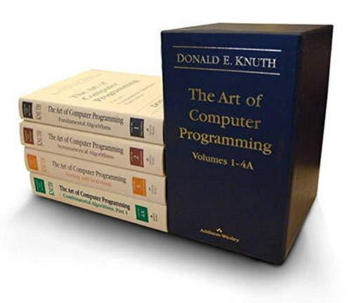 The Art of Computer Programming, Volumes 1-4 (Box Set)