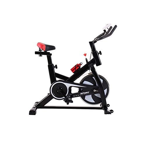 DUTUI Bicicletas Giratorias, Bicicletas Ultra Silenciosas, Equipos De Fitness para El Hogar, Bicicletas Estáticas para Interiores, Adecuadas para Hombres Y Mujeres,Negro
