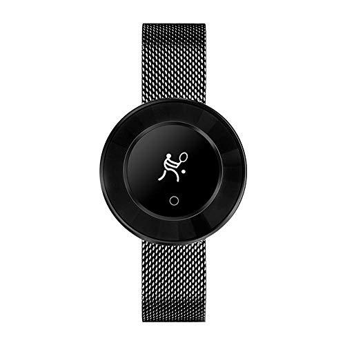 GYR Reloj Inteligente para Mujer, Estilo Moda Potente podómetro Impermeable La Pantalla táctil del Modo Yoga se Puede conectar a la Pulsera Inteligente Fitnessuhr del teléfono por f