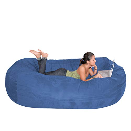 Cozy sack bean bag chair 7 feet
