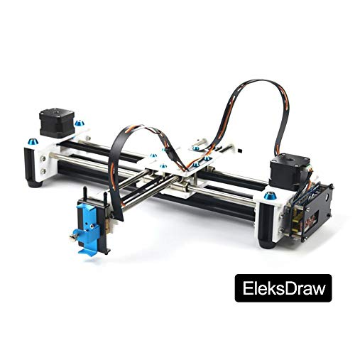 Bulary Drawing Machine Drawing Robot Plotter Disegno con penna Robot Drawing Machine (incluso EleksDraw Drawing Machine, Power Adapter, Cavo USB, Plug Adapter)