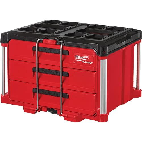 Milwaukee Packout 3-Drawer Tool Box