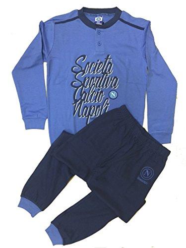 Napoli Pijama Niño Ropa Oficial fútbol * 24425 Azul Claro 14 años
