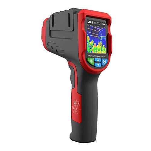 Termocamera a infrarossi con risoluzione IR NF-521, termocamera portatile da 200000 pixel, termocamera con rilevatore di riscaldamento a pavimento con display LCD da 2,4 pollici Scheda TF da 16GB